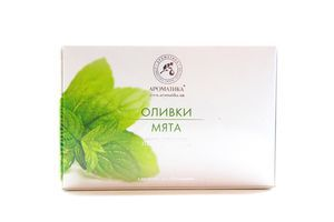 Мыло Оливки Мята Ароматика к/у 150г