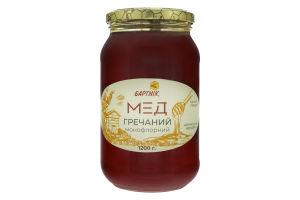 Мед монофлорный Гречишный Бартнік с/б 1200г