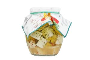 Сыр Еко-ферма Диво Чемер в олив масле с пряност40%