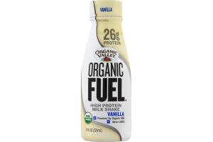 Organic Valley Organic Fuel High Protein Milk Shake Vanilla