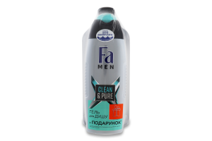 Шампунь для волос Clean&Cool Syoss 500мл+Гель для душа Clean&Pure Fa 250мл