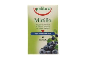 Добавка диет Equilibra Mirtillo Черника