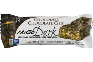 NuGo Dark Protein Bar Chocolate Chocolate Chip