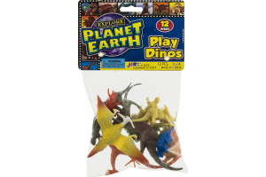 Ja-Ru Planet Earth Play Dinos - 12 CT