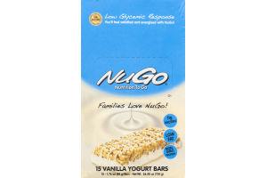 NuGo Nutrition To Go Vanilla Yogurt Bars - 15 CT
