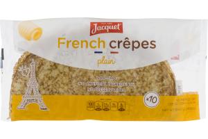 Jacquet French Crêpes Plain - 10 CT