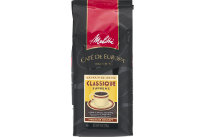 Melitta Cafe De Europa Extra Fine Grind Supreme Medium Roast Coffee