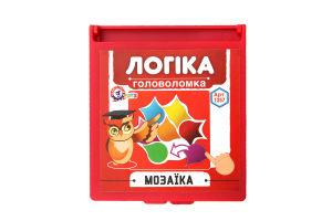 Логічна гра для дітей від 5 років №1257 Мозаїка Technok 1шт