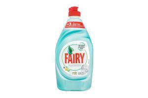 Засіб для миття посуду Лимон та лайм Platinum Fairy 430мл