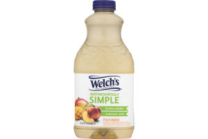 Welch's Refreshingly Simple Juice Peach Mango