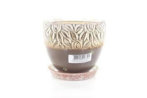 Горшок керамический маленький Верона Литвин