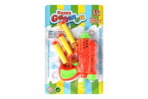 Игрушка детская Пистолет с присосками D-001