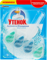 Подвесной очиститель унитаза Активное очищение Морской Туалетный утенок 38.6г
