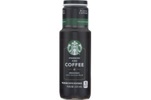 Starbucks Iced Coffee Medium Roast Beverage Unsweetened