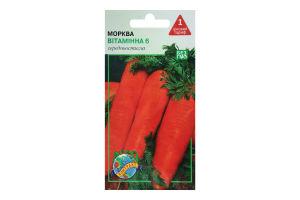 """Нас. Морква """"Вітамінна-6"""" 3г /Агроконтракт/"""