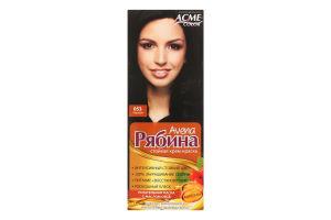 Крем-краска для волос №053 Черный Рябина Avena Acme Color 1шт