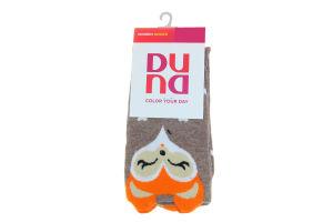 Шкарпетки жіночі Color your day Duna темно-бежеві 23-25