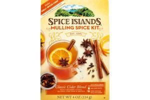 Spice Islands Mulling Spice Kit Classic Cider Blend