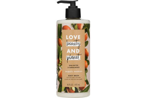 Love Beauty and Planet Majestic Moisture Body Wash Shea Butter & Sandalwood