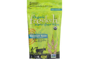 Freekeh Organic Roasted Green Wheat Rosemary Sage