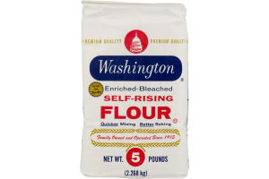 Washington Enriched-Bleached Self-Rising Flour