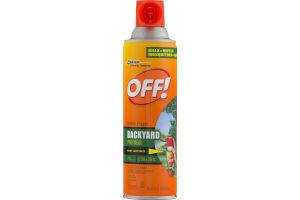 OFF! Backyard Pretreat Outdoor Fogger