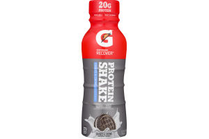Gatorade G Series Recover Protein Shake Cookies and Cream