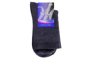Шкарпетки Легка Хода чоловічі 6338 25 темно-сірий
