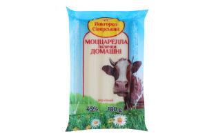 Сир 45% м'який Моццарелла палички домашні Новгород-Сіверський м/у 180г