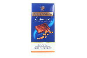 Шоколад молочный Favorite Caramel Millennium 100г