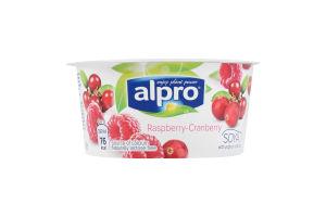 Продукт соевый ферментированный с малиной и клюквой Alpro ст 150г