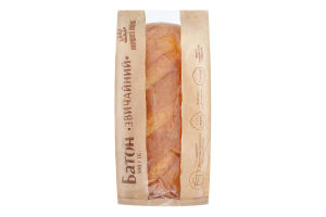 Батон Звичайний Перший хліб м/у 500г