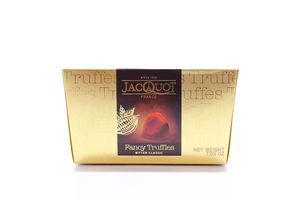 Конфеты Jacquot Трюфели горький шоколад 200г