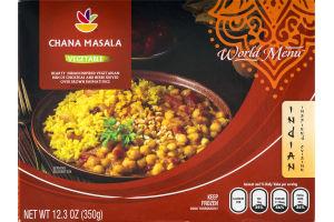 Ahold World Menu Chana Masala Vegetable