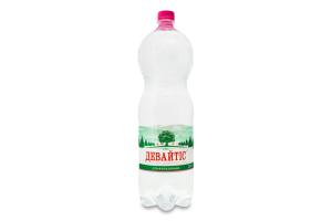 Вода питна слабогазована Девайтіс п/пл 2л