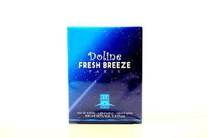 Туалетная вода женская Doline Fresh Breeze Via Paris Parfums 100мл