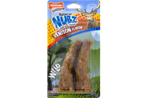 Nylabone Edibles Natural Nubz Venison Flavor