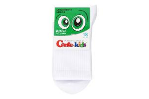 Шкарпетки дитячі Conte kids Active №20С-167СП 18 білий