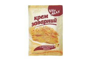 Крем заварний з ароматом ванілі VitaMAX м/у 100г