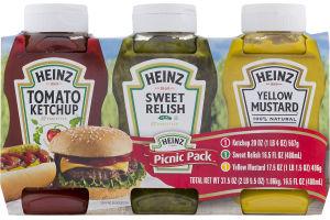 Heinz Picnic Pack - 3 PK