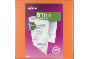 Avery Binder Clear Cover Heavy Duty