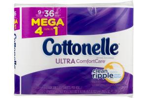 Cottonelle Ultra Comfort Care Toilet Paper Mega Rolls - 9 CT