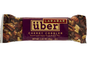 Larabar Uber Fruit And Nut Bar Cherry Cobbler