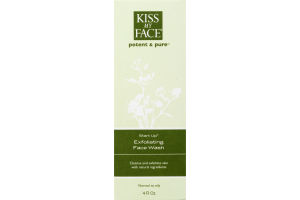Kiss My Face Potent & Pure Start Up Exfoliating Face Wash