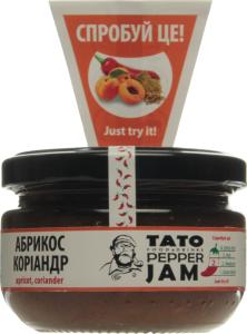 Соус-джем абрикос-коріандр TatoPepperJam с/б 130г