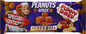 Арахіс смажений солодкий Caramel and honey Funny Sheep м/у 60г