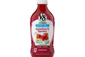V8 V-Fusion Light Fruit & Vegetable Juice Strawberry Banana