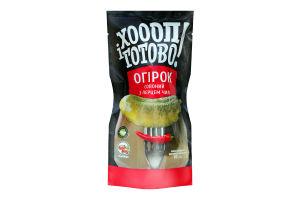 Огірок солоний з перцем чилі Хоооп і готово! д/п 200г