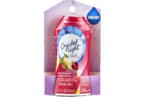 Crystal Light Liquid Drink Mix Strawberry Lemonade