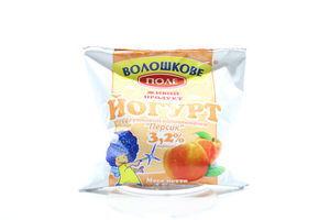 Йогурт 3.2% Персик Волошкове поле м/у 450г